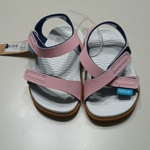 Native pink sandals
